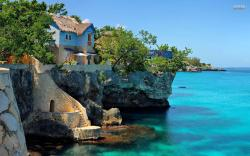 Coastal house in Negril, Jamaica wallpaper 1920x1200 jpg