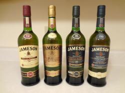Jameson Special Reserve, Gold Reserve, Limited Reserve, & Rarest Vintage Reserve