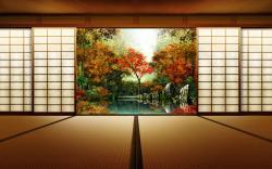 Japanese House Wallpaper