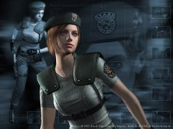 Jill was one of the first female characters I remember playing a child and I felt like she was a very empowering character.