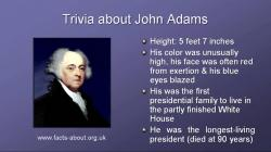 President John Adams Biography