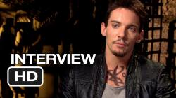 The Mortal Instruments: City of Bones Interview - Jonathan Rhys Meyers (2013) - HD
