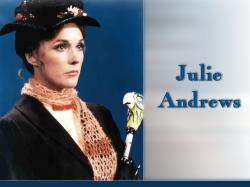 Julie Andrews Julie Andrews as Mary Poppins