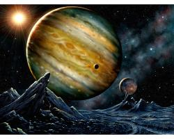 Jupiter, solar system, moons, hubble space telescope, NASA, STScl, photos