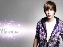 Justin Bieber Widescreen Desktop Wallpaper