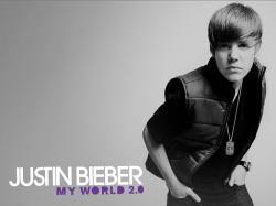 justin bieber wallpaper my world 2