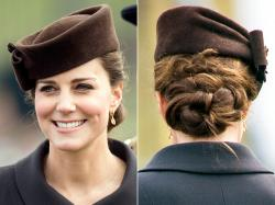 Pregnant Kate Middleton's Curly Updo for St. Patrick's Day: GIF, Photo - Us Weekly