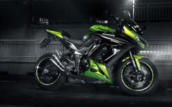 Kawasaki Z1000SX Motorcycle Green