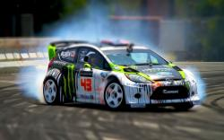 Blurry Ken Block You are viewing a Formula Drift Wallpaper