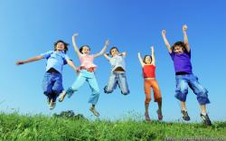 Wallpaper: Kids joy Spring break wallpapers. Resolution: 1024x768 | 1280x1024 | 1600x1200. Widescreen Res: 1440x900 | 1680x1050 | 1920x1200