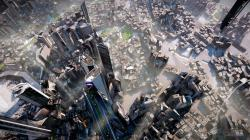 Killzone: Shadow Fall's opening fly-by shot makes for incredible viewing, with a seemingly limitless draw distance. The city sprawl effect is achieved in ...