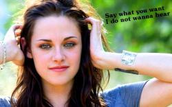 Twilight Series Kristen Stewart wall