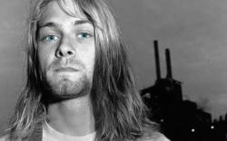 Kurt Cobain Nineties Nirvana blue eyes men