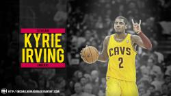 Kyrie Irving wallpaper by michaelherradura