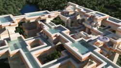 Labyrinth pools
