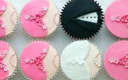 Ladies Gentlemen Cupcakes