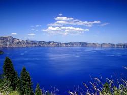 Fondo de escritorio paisaje lago azul