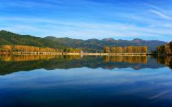 Papel de Parede - Lago Tranquilo