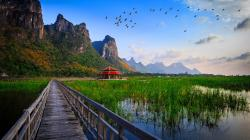 Description: The Wallpaper above is Lake bridge thailand Wallpaper in Resolution 1920x1080. Choose your Resolution and Download Lake bridge thailand ...
