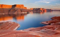 Lake Powell. Lake in United States, North America