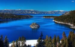 Beautiful Lake Tahoe Usa Wallpaper