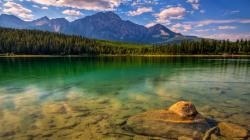 ... landscape_green_lake-hd-wallpaper ...