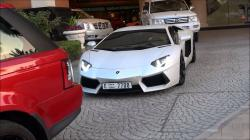 Lamborghini Aventador LP700-4 Acceleration in Dubai, U.A.E Full HD!