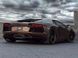 2012 Wheelsandmore Lamborghini Aventador LP 700-4 Rear Angle (2)