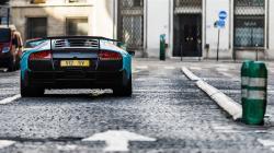 Lamborghini Murcielago SV Supercar Street HD Wallpaper