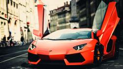 Lamborghini Orange City