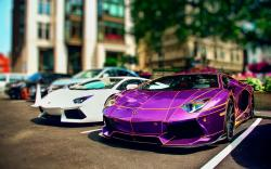 Lamborghini tron art