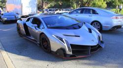 The $4.5 Million Lamborghini Veneno driving in California