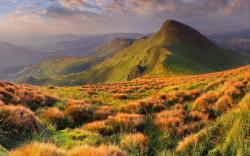 Peaceful landscape ...