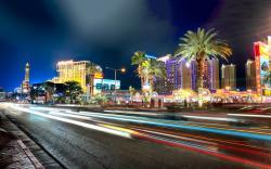 ... Las vegas boulevard; Las vegas nights
