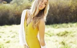 Model Blonde Girl