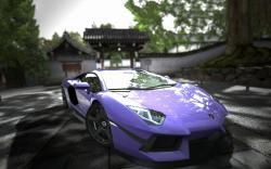 Lavender aventador