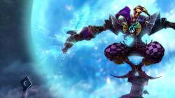 League of Legends blue wallpaper