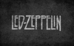 Led Zeppelin Logo Rock Music