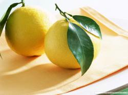 Fruit Lemon Wallpaper