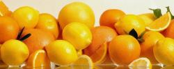 2560x1024 Wallpaper oranges, grapefruits, lemons, citron