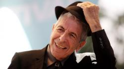 Leonard Cohen backdrop wallpaper