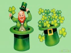 Celebrating Leprechaun. Celebrating Leprechaun Computer Wallpaper