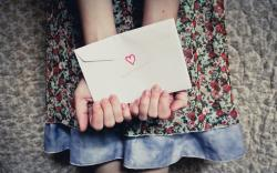 Letter Envelope Hands Heart