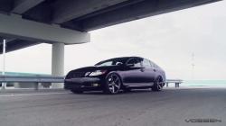 """Lexus GS450h Hybrid on 20"""" Vossen VVS-CV3 Concave Wheels / Rims"""