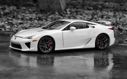 "Download the following Lexus LFA Wallpaper 44930 by clicking the orange button positioned underneath the ""Download Wallpaper"" section."