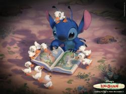 """Lilo & Stitch"" desktop wallpaper number 2 (1024 x 768 pixels)"