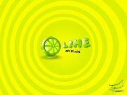 1600x1200 Lime Art Studio. How to set wallpaper on your desktop?