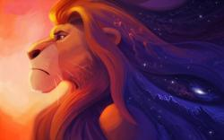 Mufasa fanart - the-lion-king Wallpaper