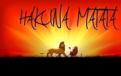 Lion King: Hakuna Matata HD Wallpaper