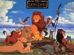 """The Lion King"" desktop wallpaper (1024 x 768 pixels)"
